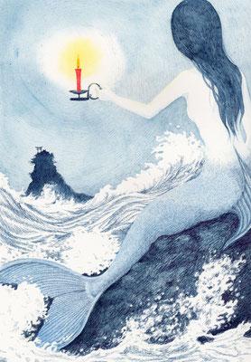 小川未明「赤いろうそくと人魚」