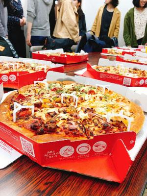 2019新歓ピザパーティー