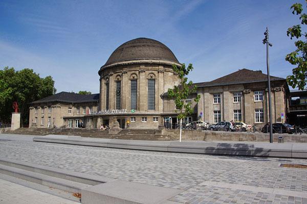 Der Deutzer Bahnhof in Köln