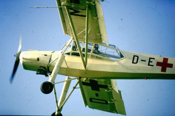 Fieseler (Mráz) Fi.156D-2 Storch (K.65 Cap) - D-EMAV, ex D-EKUS, ex HB-IKA, ex OK-IKA, ex OK-BRB, ex OK-DFR - c/n 741 / 475303