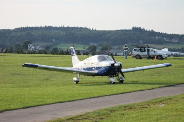 Die PA-28 ist ein beliebtes Reiseflugzeug