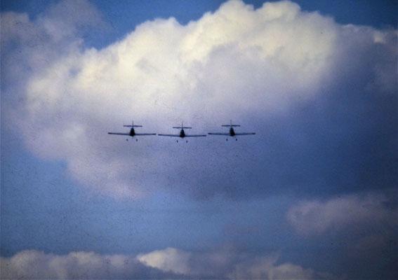 Aerotriga Hungarian Aerobatics - 3x Zlin Z-50L - HA-SIF - c/n 0033 + HA-SIH - c/n 0050 + HA-SIJ - c/n 0056