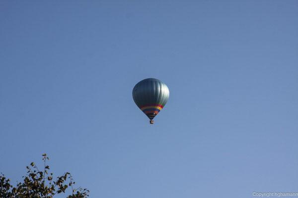 Ballonfahren, das stille Vergnügen