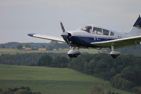 Im Landeanflug auf Wershofen