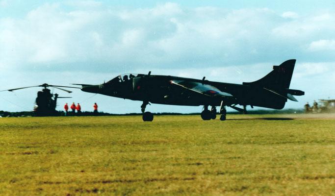 Hawker-Siddley Harrier GR.1 - (Royal Air Force)