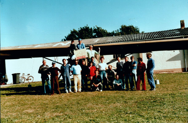 Fieseler (Morane-Saulnier) Fi.156 (MS.505) Storch - OO-STO - c/n 269