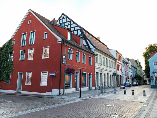 Ueckermünde, Altstadt