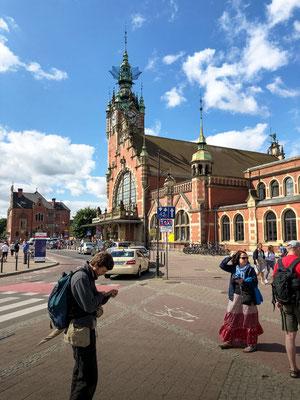 Hauptbahnhof Danzig/ Gdańsk Główny