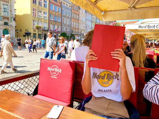 Langer Markt, Hard Rock Cafe Gdansk