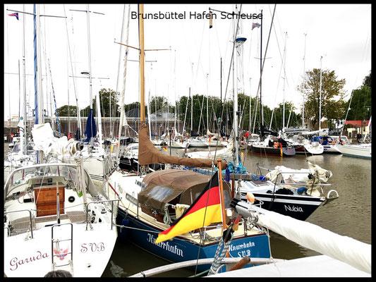 Hafen Schleuse Brunsbüttel