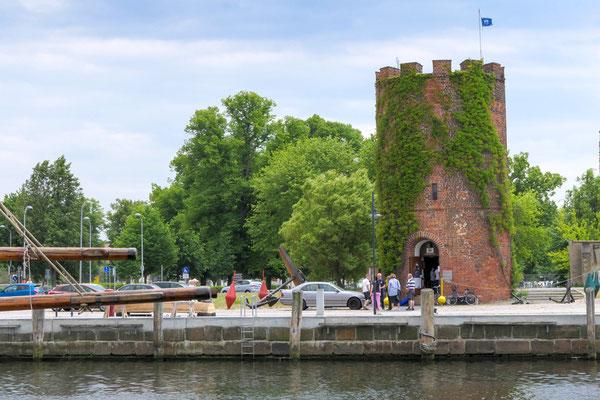Museumshafen Greifswald und FangenTurm