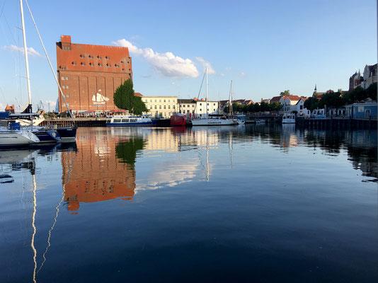 Stralsund, Blick vom Kutter