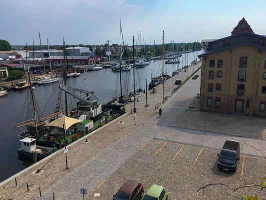 Museumshafen Greifswald und Hanse Werft