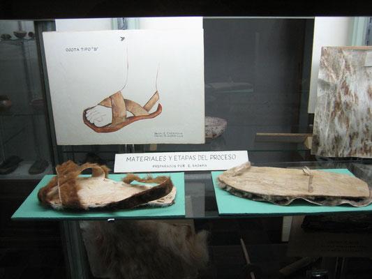 Musée de Tilcara. Objet inca, l'ancêtre de la tong ?