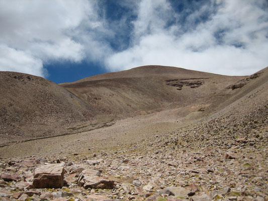 Enfin des nuages (camp supérieur à 4950m)