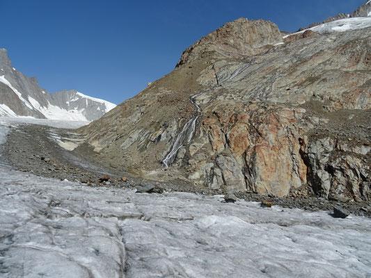 Sur le glacier Fiescher