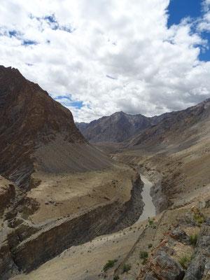 La rivière Zanskar