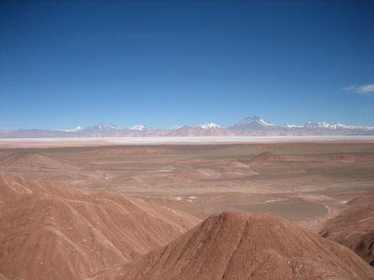 Le Chili au fond