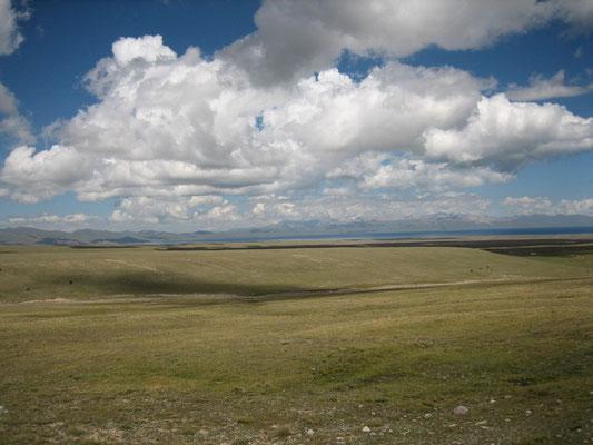 Son Kul, lac à 3020m d'altitude
