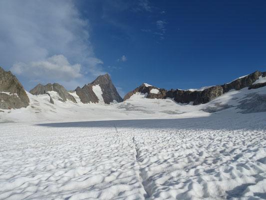 Sur le glacier Galmi
