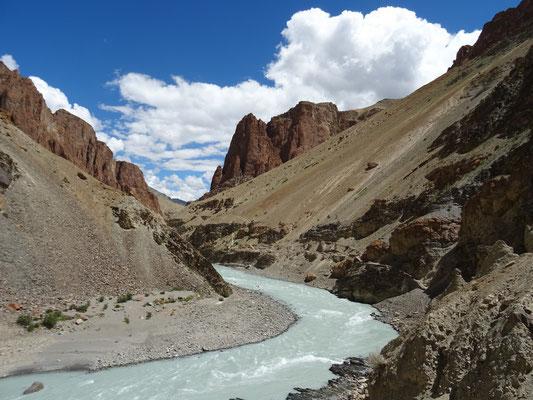Rivière Tsarap, nous sommes bien sur la planète Terre