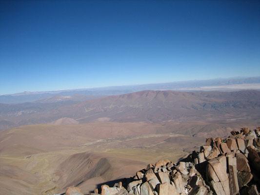 Au sommet du Chani (5896m)