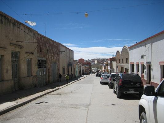 Ville de la Quiaca (au nord de l'Argentine, à quelques kilomètres de la Bolivie)