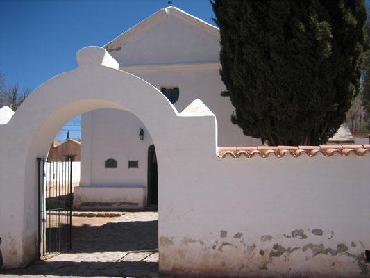 Eglise d'Uquia (fin XVII siècle)