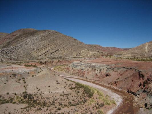 Sur la route d'Abra Pampa