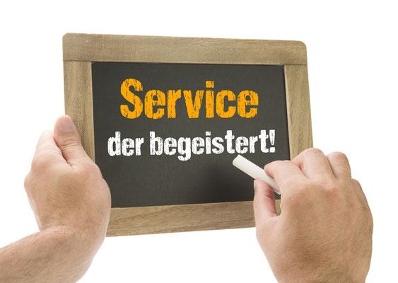 Service der begeistert
