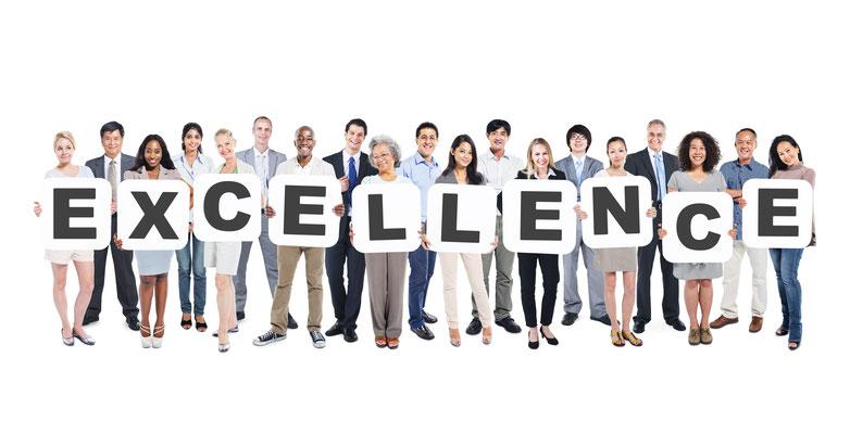 Exzellent entsteht durch Teamarbeit