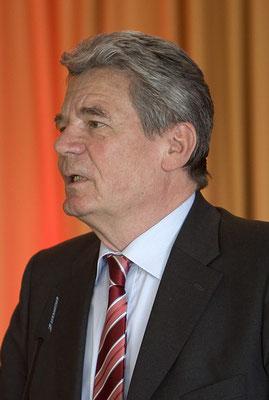 Bundespräsident a.D. Joachim Gauck