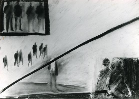 Reiner De Bruyckere - Zeichnungen um 1984