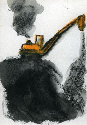 Reiner De Bruyckere - Zeichnungen um 1987