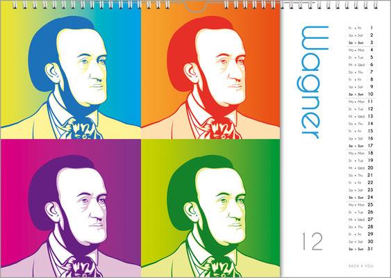 Der Komponisten-Kalender 39 im Dezember.