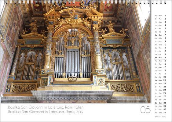 Musik-Geschenk Orgel-Kalender; Mai
