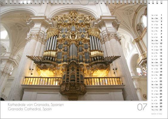 Musik-Geschenk Orgel-Kalender; Juli