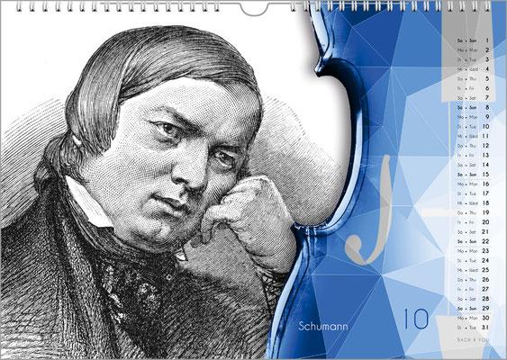 Der Komponisten-Kalender 49 im Oktober.