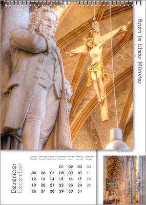 Musik-Geschenk Bach-Kalender 67 im Dezember.