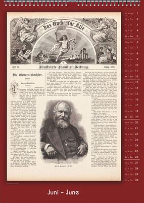 Der Komponisten-Kalender 34 im Juni.