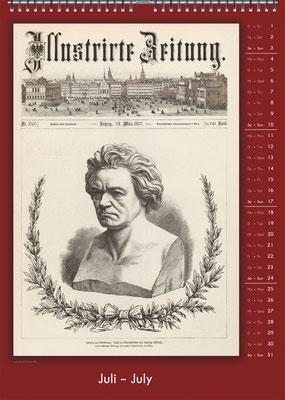 Der Komponisten-Kalender 34 im Juli.