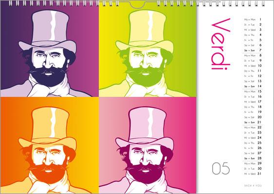 Der Komponisten-Kalender 39 im Mai.