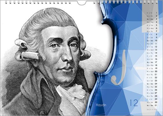 Der Komponisten-Kalender 49 im Dezember.