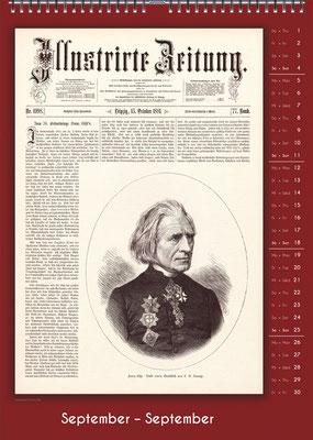 Der Komponisten-Kalender 34 im September.