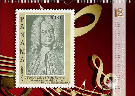 Der Komponisten-Kalender 48 im Dezember.