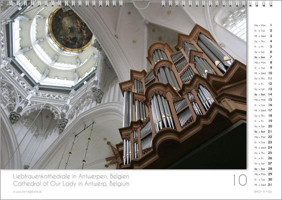 Der Oktober im Orgelkalender 2018.