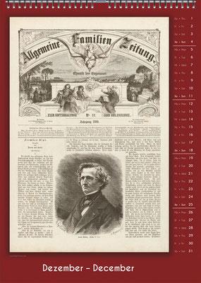Der Komponisten-Kalender 34 im Dezember.