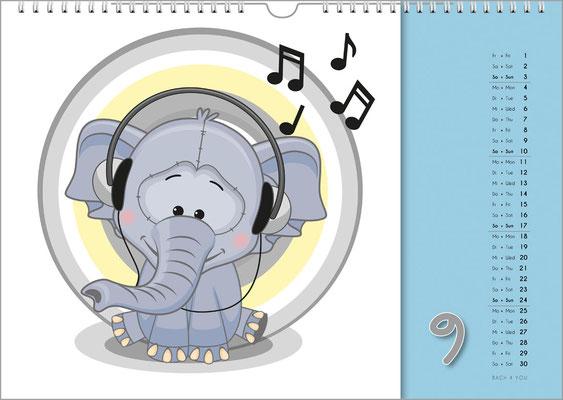 33 Musik-Kalender sind 33 Musik-Geschenke