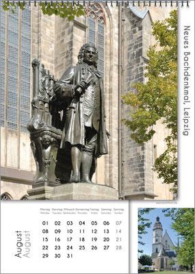 Musik-Geschenk Bach-Kalender 67 im August.