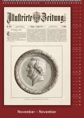 Der Komponisten-Kalender 34 im November.